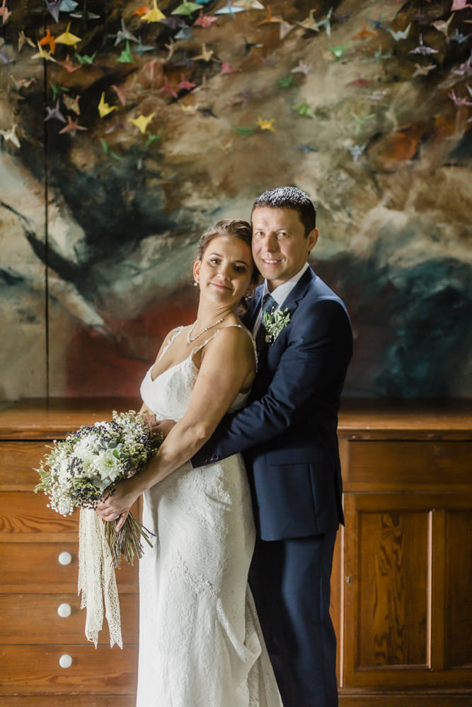 Emma and Graham, their wedding at Mount Druid